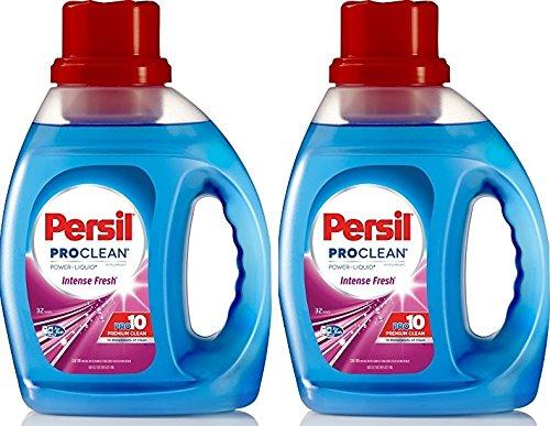 Persil ProClean Power-Liquid Laundry Detergent, Intense Fresh, 50 Fluid Ounces, 32 Loads (Pack of 2)