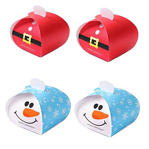 Christmas Cardboard Treat Boxes