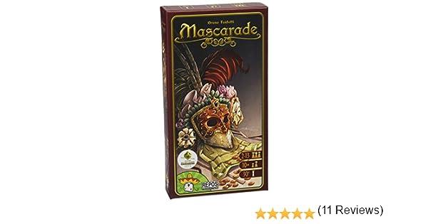 Repos Mascarade, Juego de Cartas (Versión Alemana): Amazon.es: Juguetes y juegos