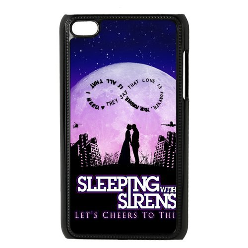Sleeping with Sirens Lover Kiss 8 Ipod Touch 4 Hard Cover Case Best Choice Birthday (Siren Costume Diy)