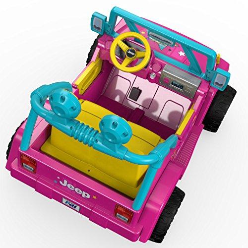 514KtkOCbXL - Power Wheels Barbie Jeep Wrangler