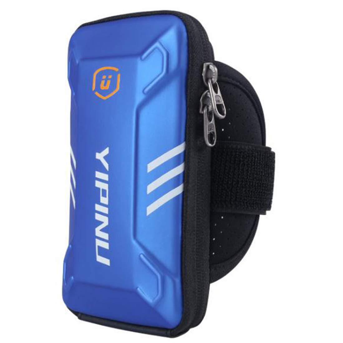 Hemengjuan Outdoor Cycling Equipment Fitness Running Arm Bag, Exercise Mobile Phone Arm Bag (Color : Blue) by Hemengjuan