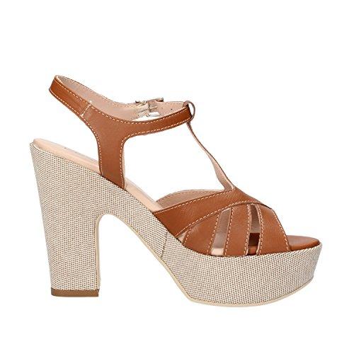 KEYS Sandales Femme 40 EU chamois cuir AG779-B