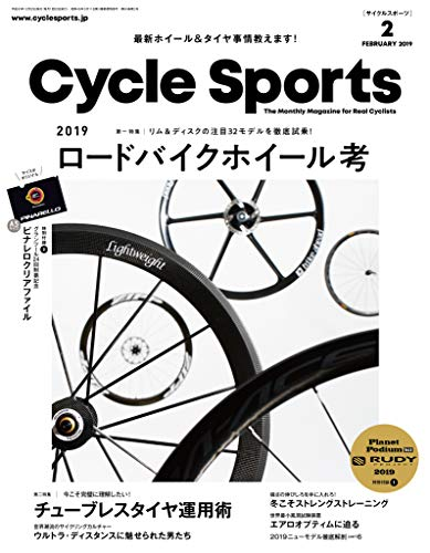 CYCLE SPORTS 2019年2月号 画像 A