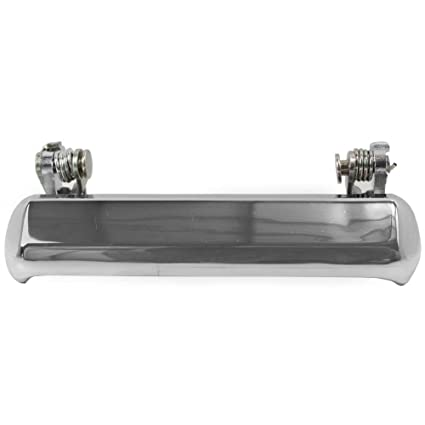 Driver Side Chrome Plastic Exterior Door Handle For 80-86 Nissan 720 Front