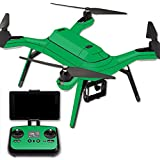 MightySkins Protective Vinyl Skin Decal for 3DR Solo Drone Quadcopter wrap cover sticker skins Solid Green