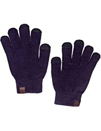 Mens Commuter Texting Gloves w/ Touchscreen Conductivity