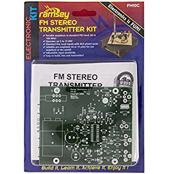 Ramsey FM10C - FM Stereo Transmitter Kit (Soldering/Assembly Required)