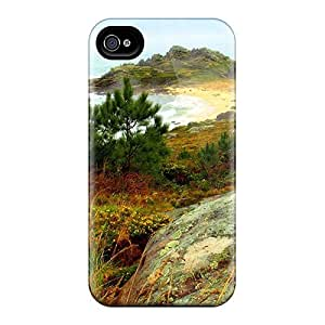 Top Quality Protection Beautiful Wild Beach Case Cover For Iphone 4/4s