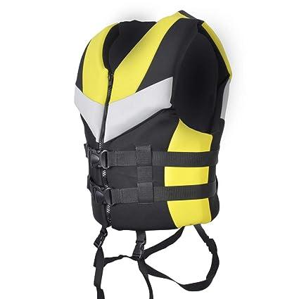 Amazon.com: Chaleco salvavidas XBJSY amarillo para hombre y ...
