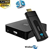 Galexbit Wireless Transmitter and Receiver W2H MINI WIHD HDMI support 1080P 3D up to 10M 33FT for TV project HD player