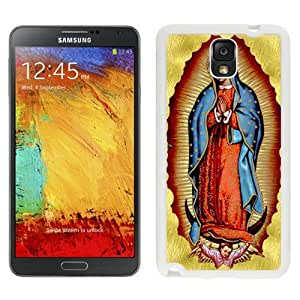 Personalized Galaxy Note 3 Case Design with Virgin Mary Samsung Galaxy Note 3 III N900 N9005 Case in White