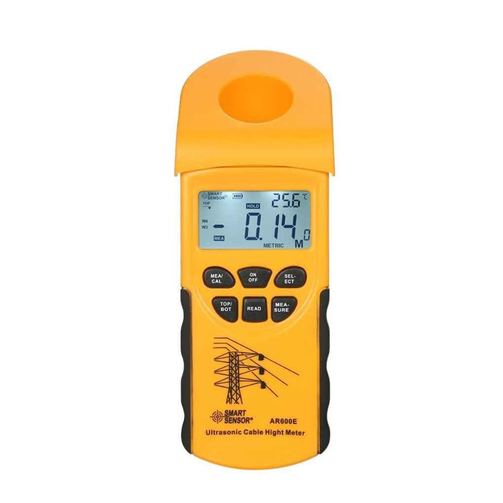 SMART SENSOR AR600E Handheld Ultrasonic Cable Height Meter Tester 3-23m Height Measuring Instruments xuanL