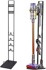 Vacuum Stand, Vacuum Accessories Stable Metal Storage Bracket Holder for Dyson Handheld V11 V10 V8 V7 V6 Cordless Vacuum Cleaners, Black