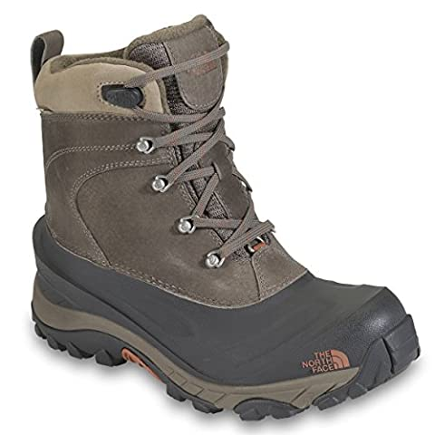 The North Face Men's Chilkat II Insulated Boot,Mud Pack Brown/Bombay Brown,11.5 D - Medium