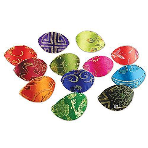 Ikee Design® 12 Piece Oriental Dumpling Style Jewelry Accessory & Coin Storage Box or (Oriental Storage Box)