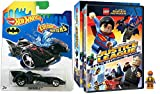 Lego Justice League Legion of Doom with Minifigure DVD & Hot Wheels Color Shifter Batmobile car Lego Figure Animated Movie Super Hero Batman Superman Set
