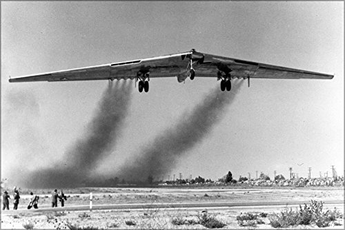- 24x36 Poster . Yb-49 Flying Wing, A Heavy Bomber Prototype P2