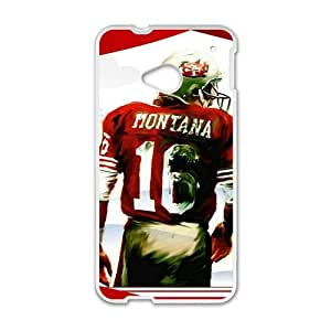Happy joe montana painting Phone Case for HTC One M7