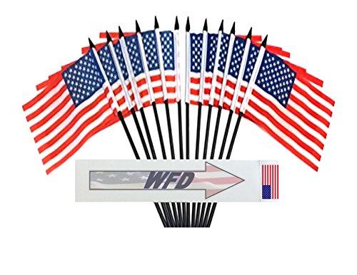 """Kuwait 4/""""x6/"""" Flag Desk Table Stick"""