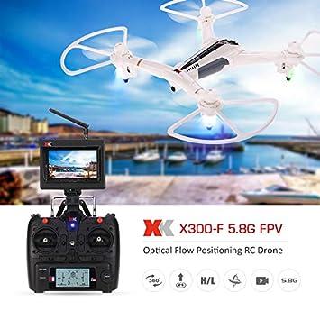 MODELTRONIC Dron con cámara 2MP FPV acrobático XK X300-F con ...