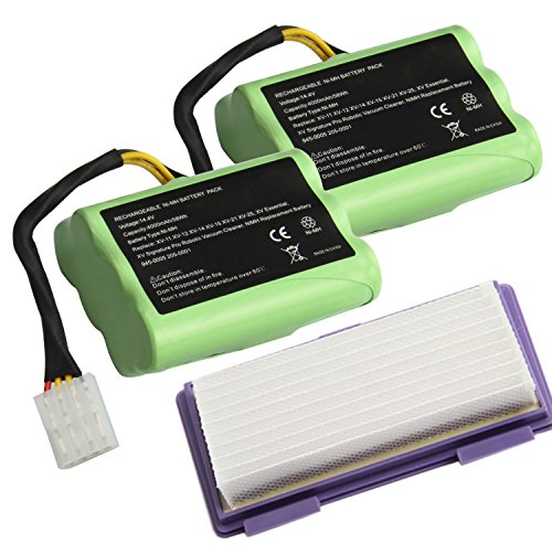 Cheapest Price! Upgraded 14.4V 4000mAh NI-MH Battery for Neato XV-11 XV-12 XV-14 XV-15 XV-21 XV-25, ...