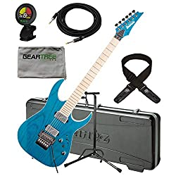 Ibanez RG5120MFCN RG Prestige Electric Guitar w/Case, Tuner, Cloth, Dlx Cable,