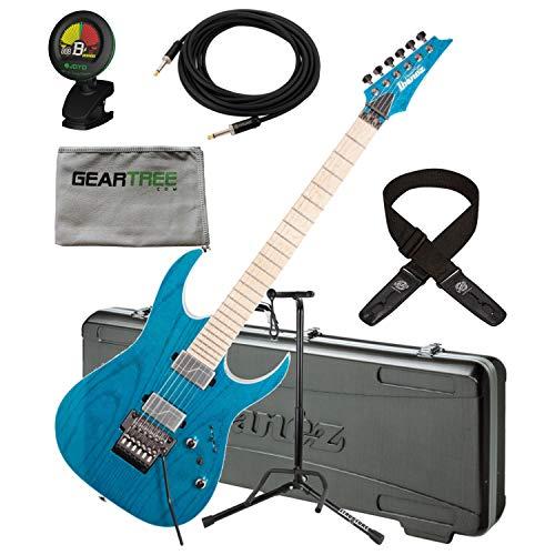 Ibanez RG5120MFCN RG Prestige Electric Guitar w/Case, Tuner, Cloth, Dlx Cable, ()