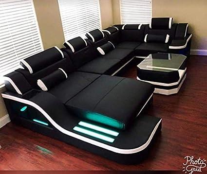 Best furnitures U Shape Sofa Set 3+2+Deewan+Kornar 2 Peass+ ...
