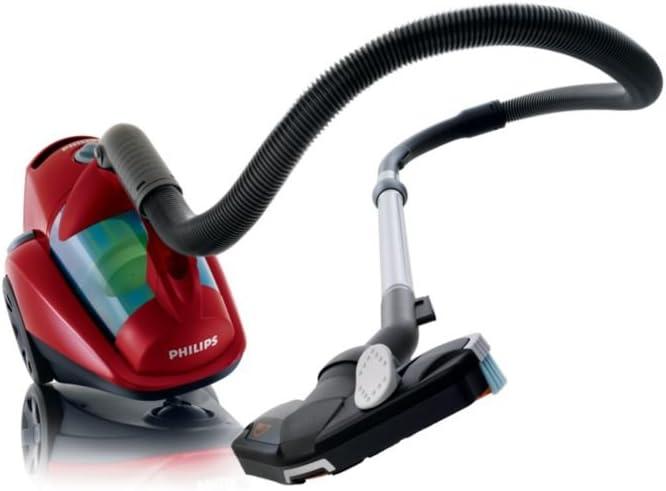 Philips FC8734/01 EasyClean Aspirador sin bolsa (Rojo oscuro ...