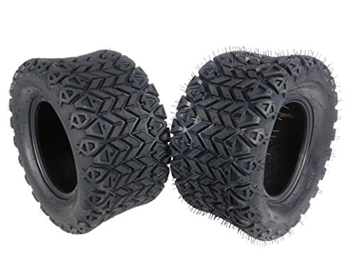- MASSFX SL201010(x2) 4 PLY Golf Cart Turf Tires 20x10-10, Set of two (2) Tires
