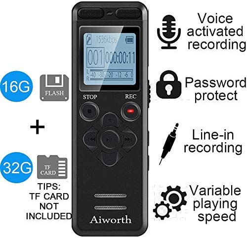 Digital Voice Activated Recorder Lectures product image
