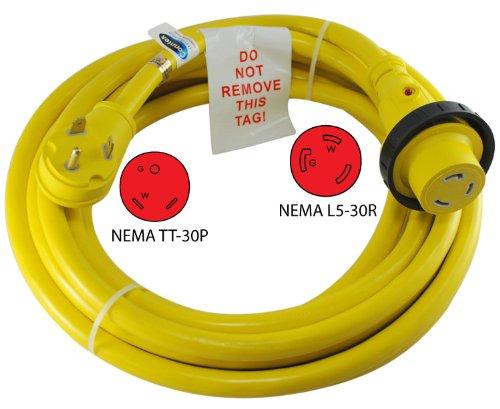 Conntek 14354 RV Power Cord 50-Foot RV 30 Amp Male Plug To 30 Amp Locking Female Connctor by Conntek (Image #2)