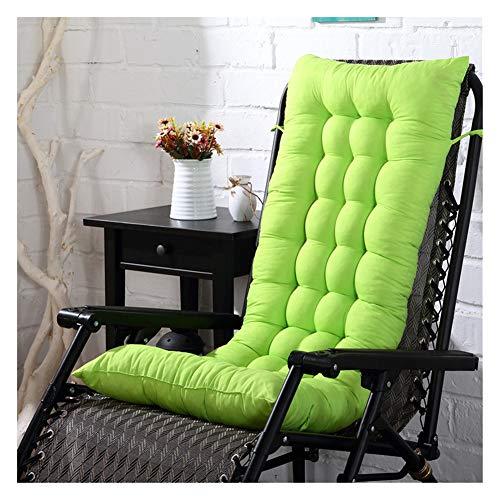HotYou Cojin de Asiento, Cojin Mat Lounge de Almohadilla Patio jardin Hamaca al Aire Libre Cubierta,Pasto Verde,48 * 125 CM