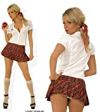Sexy Hustler School Girl Costume