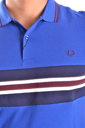 Fred Perry Herren MCBI128107O Hellblau Baumwolle Poloshirt