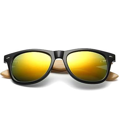 Shop 6 Gafas de sol Gafas de sol de bambú patas de madera de ...