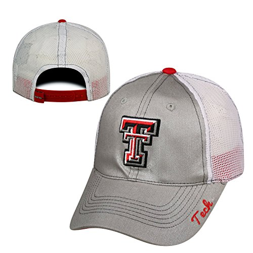 Texas Tech Red Raiders Official NCAA Adjustable Womens Glmor Hat Cap by Top of the World 798646