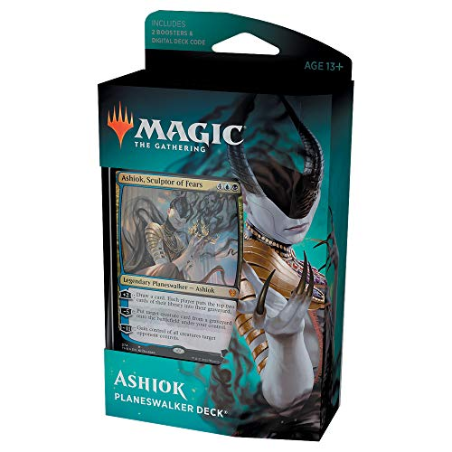 Magic: The Gathering Ashiok, Sculptor of Fears Planeswalker Deck   Theros Beyond Death   60-Card Starter Deck