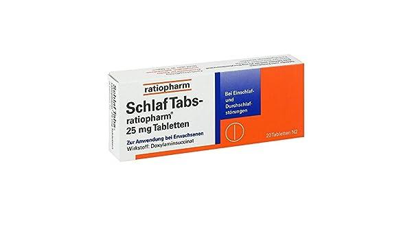 Ratiopharm - comprimidos para dormir, 20 unidades: Amazon.es: Salud y cuidado personal