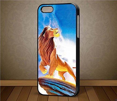 Le Roi Lion D1Disney–pour iPhone et Samsung Téléphone iPhone 6cas (Noir)