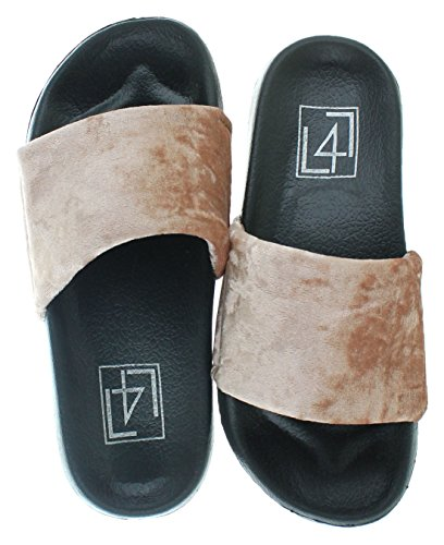 for Life by Blush Women's Lust Platform Smooth L Starr Sandal LFL qtEPt