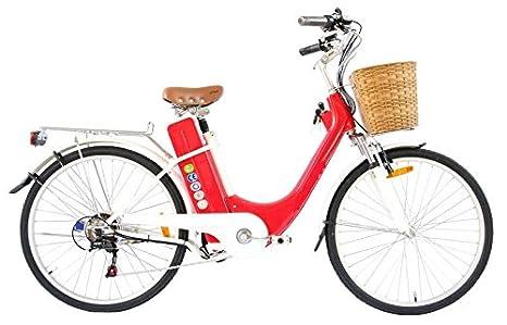 Bici Bicicletta Elettrica Olanda City Bike Da Citta Con Pedalata