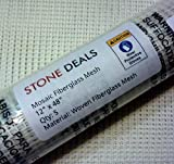 """Stone Deals Mosaic Mesh for Back Mounted Tile 12"""" x 48"""" (5 Sheets - 20 Square Feet)"""