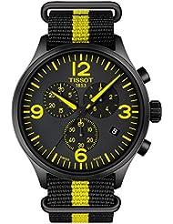 Tissot  Mens Chrono Xl Tour De France Collection - T1166173705700 Silver/Yellow/Black One Size