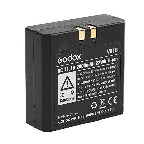 Godox VB18 Powerful Convenient Li-ion Battery for Godox VING V850II V860II-C V860II-N V860II-O V860II-S V860II-F Camera Flash Speedlite