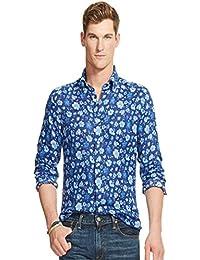 Polo Ralph Lauren Floral-Print Linen Shirt (Medium)
