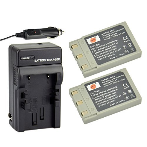 Rechargeable Battery Charger Adapter Minolta