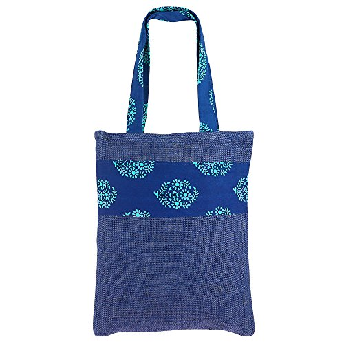 Multipurpose Mini Shopping Bag, Colored Jute, Natural Fiber, Non Woven ()