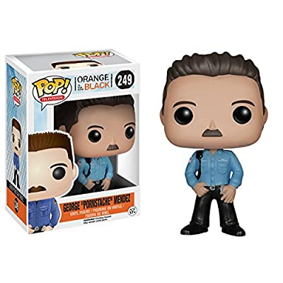 Funko Orange is The New Black - George Pornstache Mendez: Funko Pop TV: Toys & Games